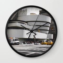 Guggenheim | Frank Gehry | architect Wall Clock