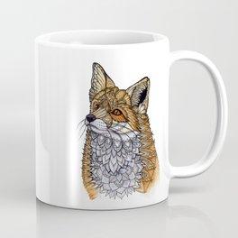 Fox Portrait Coffee Mug