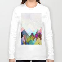 landscape Long Sleeve T-shirts featuring Graphic 104 by Mareike Böhmer