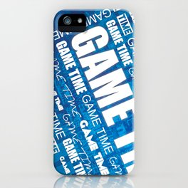 Game Time iPhone Case