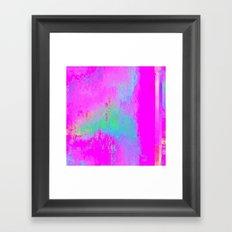 08-03-13 (Cave Glitch) Framed Art Print