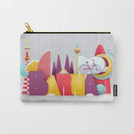 Barcelona ilustrada Carry-All Pouch