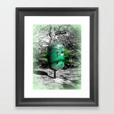 Golf Hill Letter Box Framed Art Print
