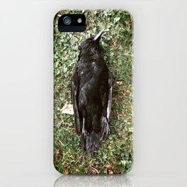 Goodnight Crow iPhone Case