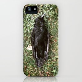 Goodnight Crow iPhone Case