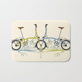 Brompton Bicycle cycling Bath Mat