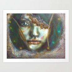 Cogs Art Print