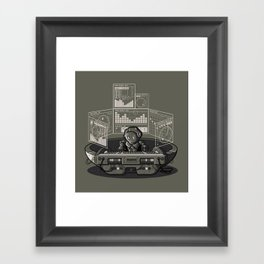 THE COMPOSER Framed Art Print