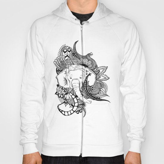 Inking Elephant Hoody