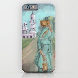 Punjabi village girls 1 iPhone Case