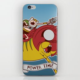 Power Time iPhone Skin