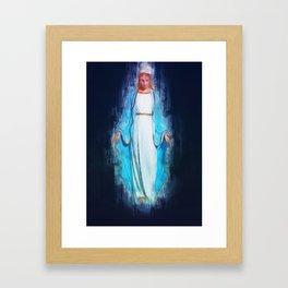 The Virgin Mary Framed Art Print