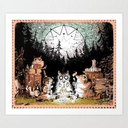 The Travellers  Art Print