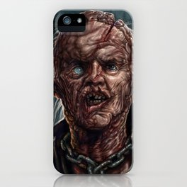 Jason Voorhees - Unmasked - Friday the 13th iPhone Case