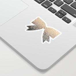 GOLD BLACK Sticker
