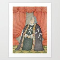 The Grand Master Art Print