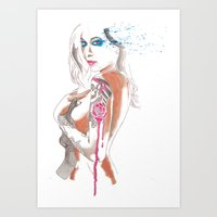 gypsy Art Prints featuring Gypsy by Mariano Daniel