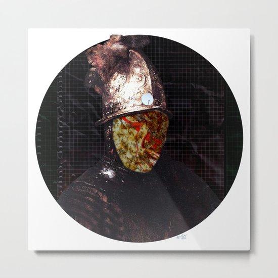 Rembrantds Golden Helmet Collage 1 Metal Print
