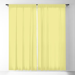 From The Crayon Box – Green Yellow Solid Color Blackout Curtain