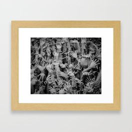 The White Temple - Thailand - 006 Framed Art Print
