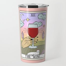 WINE READING (LIGHT) Travel Mug