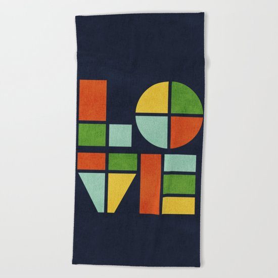 Love is Beach Towel