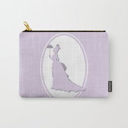 The Historical Fashion Plate Series: Victorian Lady Carry-All Pouch