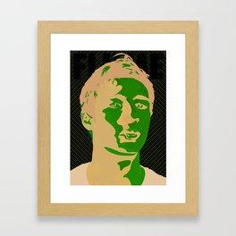 Flume Framed Art Print