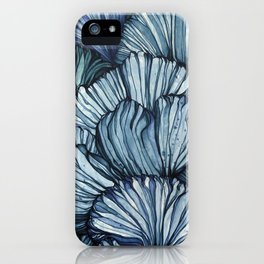 Blue Coral iPhone Case