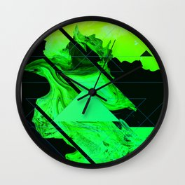 Abstract Conceptual 50th Tribute Wall Clock