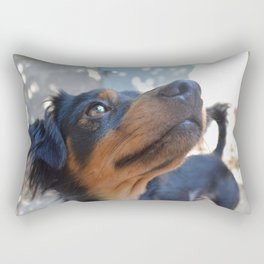 Chalie or Charly is one beatiful dog Rectangular Pillow