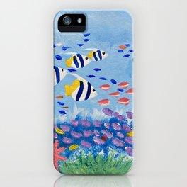 Underwater Ecosystem iPhone Case