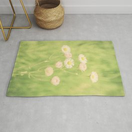 Soft Little Pink Flowers Rug