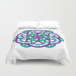 Celtic   Colorful   Mandala Duvet Cover