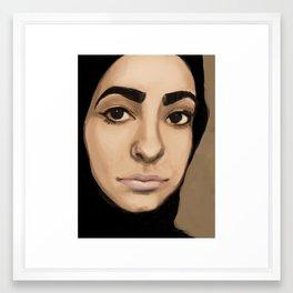 Sktchy Muse #3 Framed Art Print