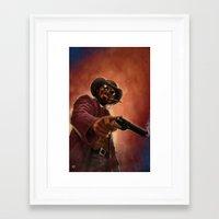 django Framed Art Prints featuring Django by Andrea Mangiri