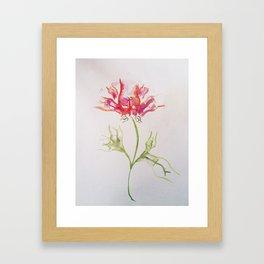 Butt Flowers Framed Art Print