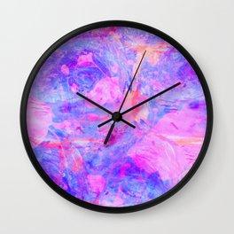 Psychedelic Purple Wall Clock