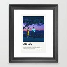 La La Land- Night Framed Art Print