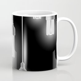 Energy saving bulbs with cords Coffee Mug