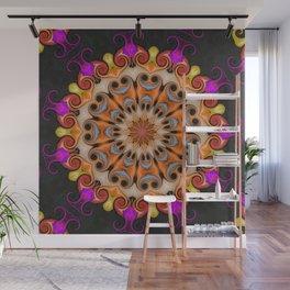 Jelly Bean Bonanza Mandala Wall Mural