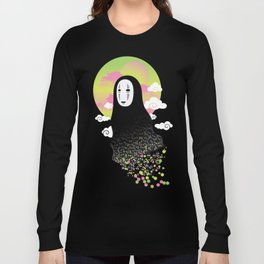 No Face and Soot Sprites Long Sleeve T-shirt