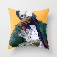 oz Throw Pillows featuring Oz by ArtPharaoh