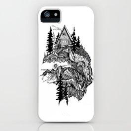 White Buffalo iPhone Case