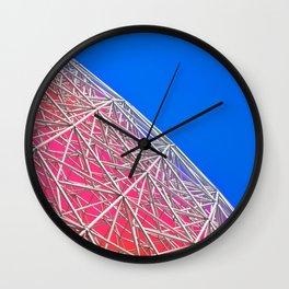 Rainbow Biosphere Mesh Wall Clock