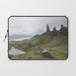 The Old Man of Storr - Landscape Photography Laptop Sleeve