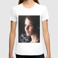 katniss T-shirts featuring Katniss Everdeen  by drawingsbyignacio