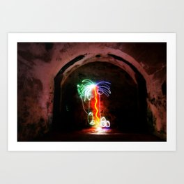 Light Palm Art Print