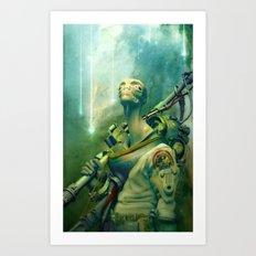 Nomad Art Print