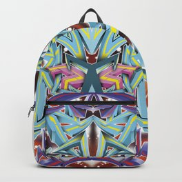 Abstract Graff Backpack